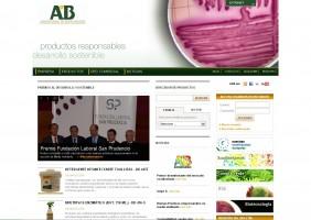 Página web AB Laboratios