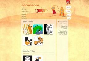 Menú de navegación Pampaneo