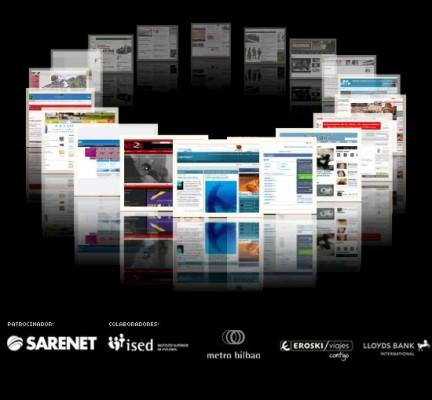 Octava edición premios Web El Correo Digital 2010