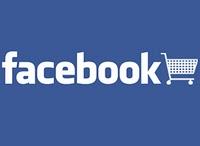 Logo de Facebook con carrito de la compra