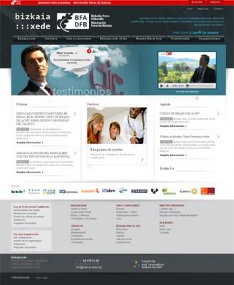 Sitio Web de bizkaia:xede
