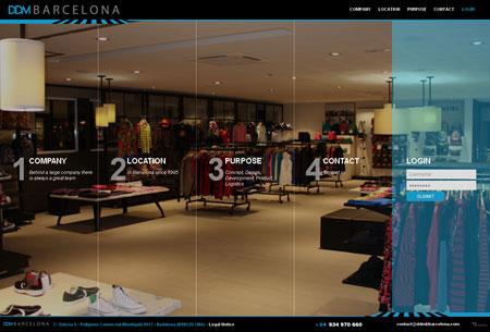 Sitio Web DDM Barcelona
