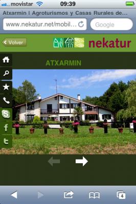 Fotografía de casa rural en Álava
