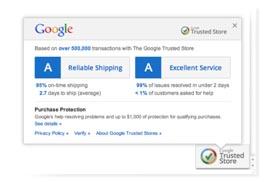 Google Trusted Store sello de confianza para tiendas online