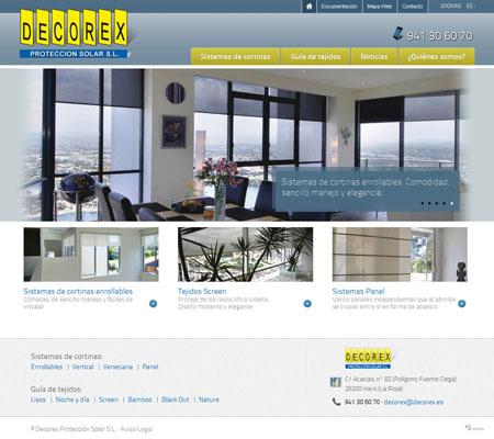 Home del Sitio Web Decorex