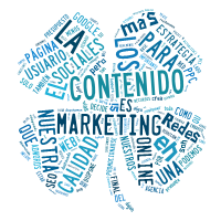 Nube de tags marketing de contenidos