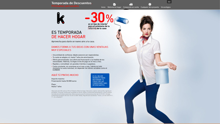 Microsite Kutxabank