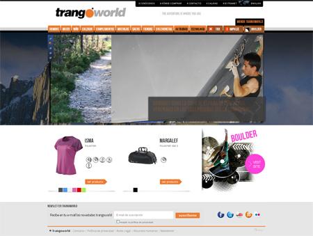 Home del Sitio Web de Trangoworld