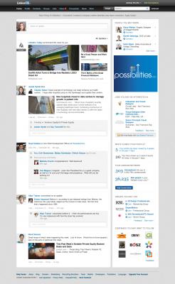 Linkedin lanza un nuevo diseño