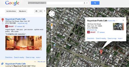 Fotos de negocio en busqueda de Google Maps