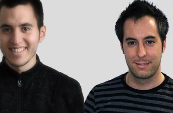 Javi Barambones y Alex Acosta, programadores expertos en Apps móvil de Veiss