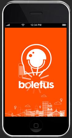 Aplicación Boletus para smartphones Android y iOS.