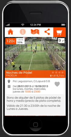 Oferta en app Boletus