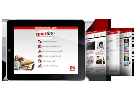 Aplicación móvil SmartBus de Huawei