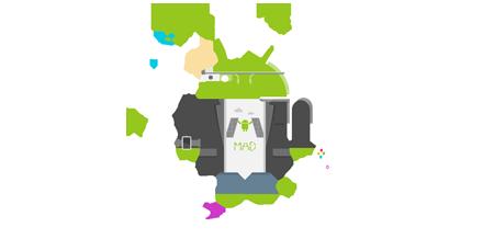 logo de la Madrid Droidcon 2014