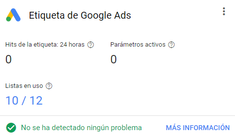 Etiqueta Remarketing Google Ads